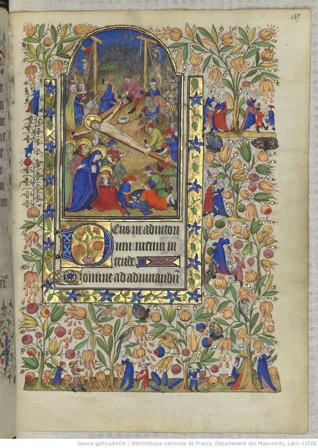 Heures de Marguerite d'Orleans 1430 ca BNF Latin 1156B fol 139r Gallica