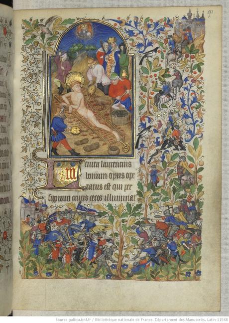 Heures de Marguerite d'Orleans 1430 ca BNF Latin 1156B fol 171r Gallica