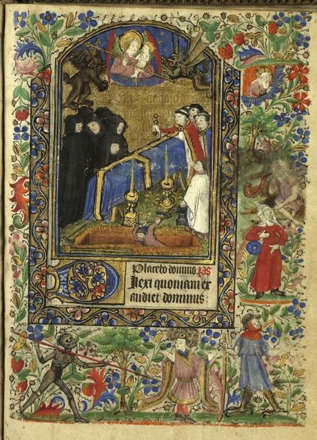 Heures de Catherine de Rohan et de Francoise de Dinan Rennes, BM, 0034 bis fol 107