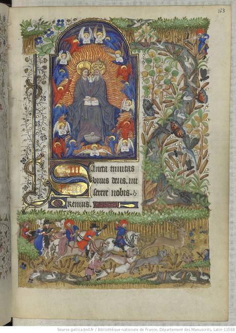 Heures de Marguerite d'Orleans 1430 ca BNF Latin 1156B fol 163r Gallica