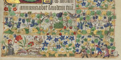 Heures de Marguerite d'Orleans 1430 ca BNF Latin 1156B fol 31r Gallica detail