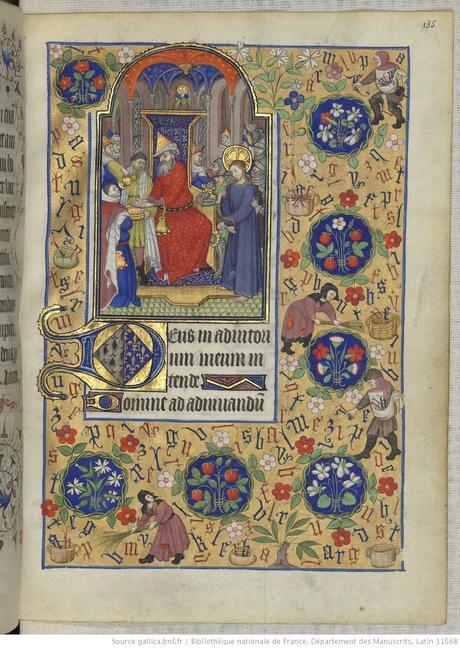 Heures de Marguerite d'Orleans 1430 ca BNF Latin 1156B fol 135r Gallica