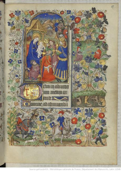 Heures de Marguerite d'Orleans 1430 ca BNF Latin 1156B fol 89r Gallica