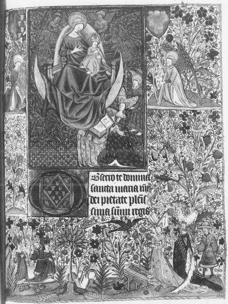 Heures de Jean de Montauban et Anne de Kerenrais BnF. ms. lat. 18026 vue 20