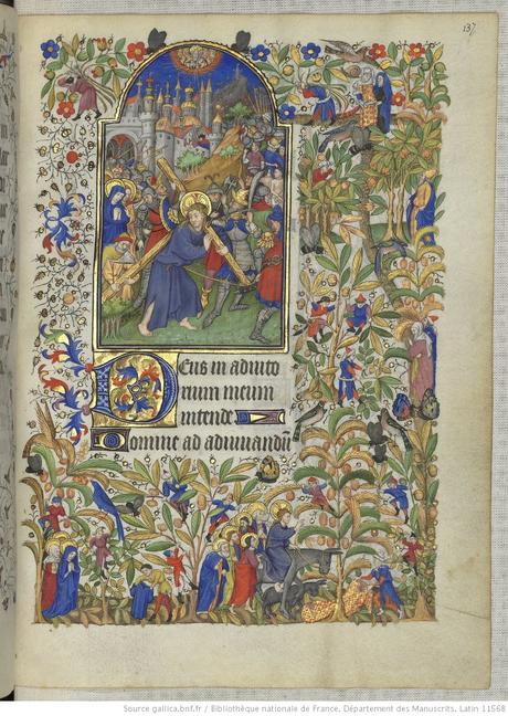 Heures de Marguerite d'Orleans 1430 ca BNF Latin 1156B fol 137r Gallica