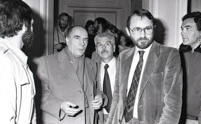 François Mitterrand était passé à Louviers quelques jours avant le 10 mai 1981
