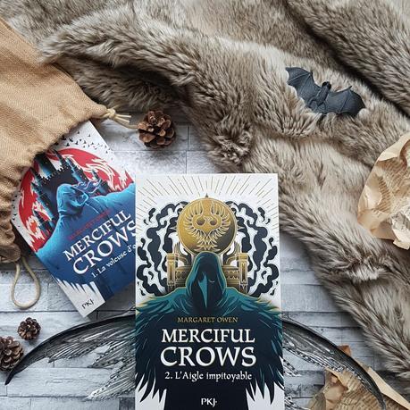 Merciful Crows, tome 2 : L'aigle impitoyable - Margaret Owen