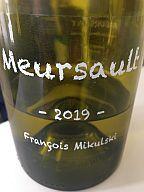 WE en 2 millésimes 2001 et 2019 : Meursault Mikulski 19, Volnay Champans Voillot 19, Pessac Malartic 01, Hermitage Faurie 01, Riesling Ginglinger 19