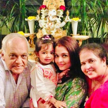 Aishwarya Rai célèbre la fête des mères sur Instagram