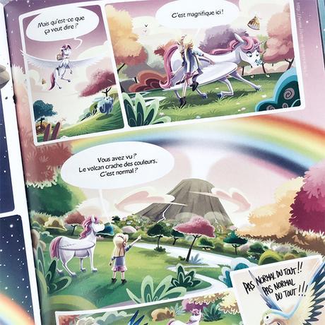 🦄 Bd jeunesse : Céleste la Licorne - t2 🦄