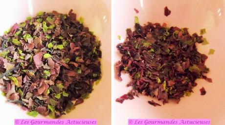 Pesto iodé et craquettes sans gluten (Vegan)