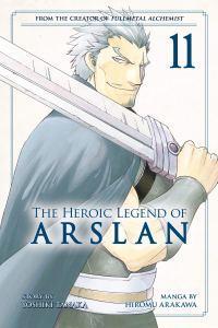 The Heroic Legend of Arslân T11, de Hiromu Arakawa