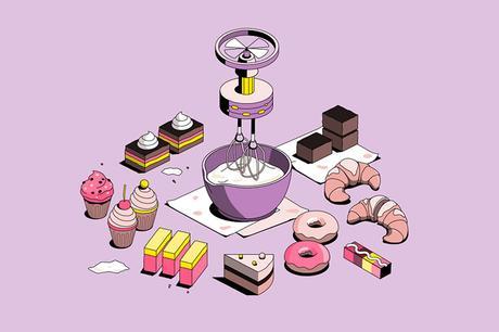 Vector illustrations by Joanna Lawniczak