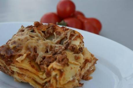 recette du jour: Lasagne à la bolognaise  au thermomix de Vorwerk