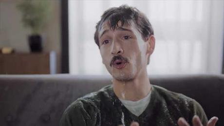 Capture d'écran d'un développeur Web dépeint comme une personne en détresse mentale
