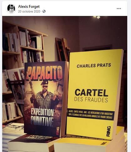Le cofondateur d'une librairie fasciste de Nancy (dé)formé par l'ISSEP Lyon