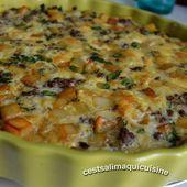 Gratin de viande au persil - Le blog de cestsalimaquicuisine