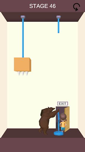 Code Triche Rescue Cut - Rope Puzzle APK MOD (Astuce) 2
