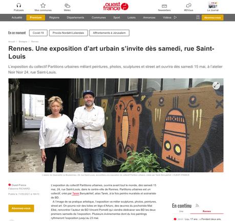 Une exposition d'art urbain s'invite à l'Atelier Noir Noir à Rennes