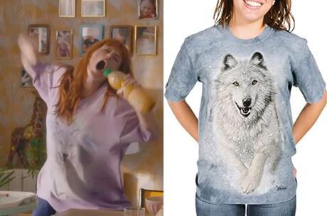 HPI : le t-shirt loup des neiges de Morgane dans l'épisode 7