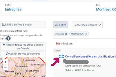 Comment récupérer vos offres d'emploi sur le Placement en ligne d'Emploi-Québec