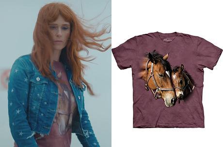 HPI : le t-shirt chevaux de Morgane dans l'épisode 7