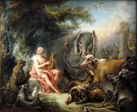 François_Boucher_-_Orphée_charmant_les_animaux_1740
