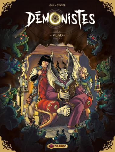Démoniste, tome 1 : Vlad • Geyser et Olivier Gay