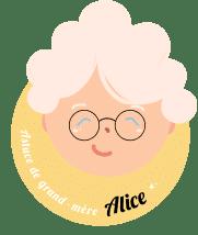 Logo Mamie Alice - Astuce de grand-mère
