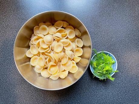 Les pâtes du weekend – Orecchiete au fenouil