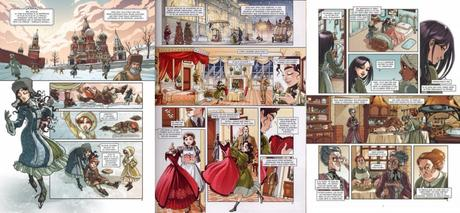 Princesse Sara, Tome 3 : Mystérieuses héritières – AUDREY ALWETT / NORA MORETTI