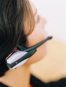 Le premier casque Bluetooth d'Ericsson