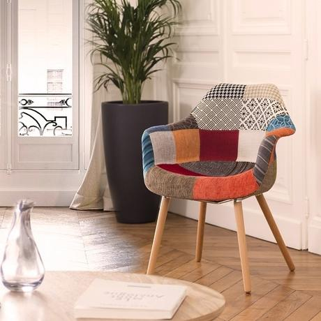 chaises patchwork