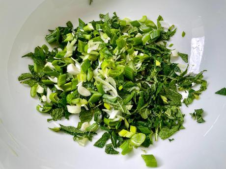 Parfums d'Asie – Salade de pois chiches aux herbes fraîches