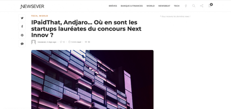 Newsever parle d'iPaidThat