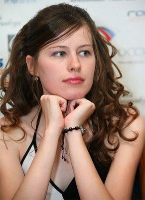 Natalija Pogonina , Russie, 2469 Elo - photo Chessbase