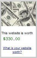 Combien vaut votre site web ?