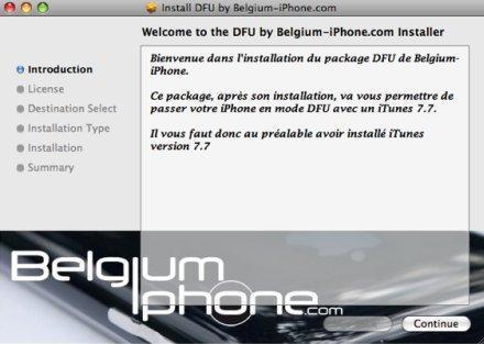 Un patch pour le DFU sous iTunes
