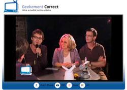 Come in my World sur Geekement Correct : interview vidéo de Louis