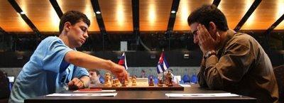 Le tournoi d'échecs de Bienne - photo site officiel
