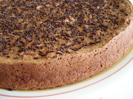 gâteau léger et fondant à la crème de marron vanillée. | À découvrir