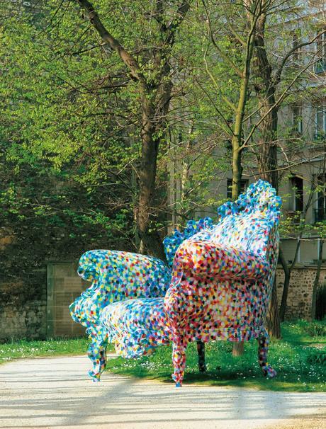 fondation cartier fauteuil proust pointillisme paul signac - clematc