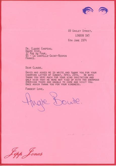 David Bowie à La Chapelle-Saint-Mesmin ?