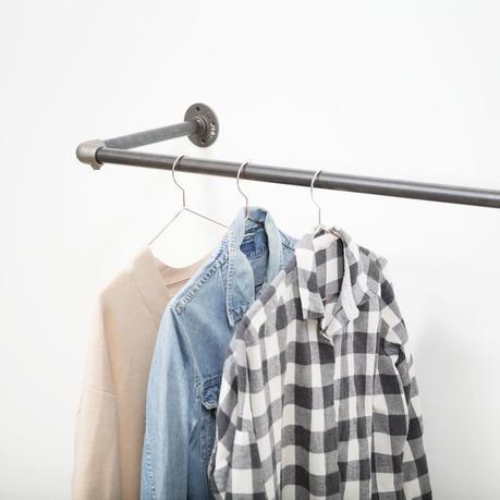 penderie ouverte studio dressing suspendu gain de place