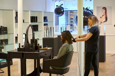 PopUpstore GHD - Se faire coiffer gratuitement