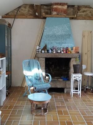 Mon nouvel atelier à Kervoulouarn