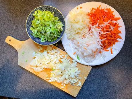 Râpé – Gratin de légumes à la béchamel