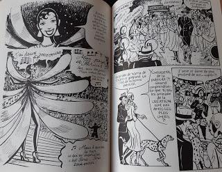 BD : Joséphine Baker - Catel & Bocquet (entre *** pour le construction du récit, **** pour les dialogues et ***** pour le dessin et les images )