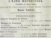 L'archiduchesse Marie Valérie, jeune autrice actrice