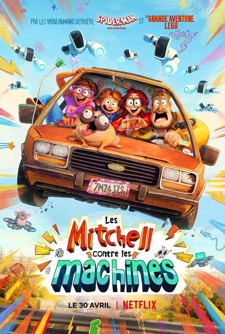 Les Mitchell contre les Machines (2021) de Michael Rianda et Jeff Rowe